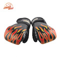 SUTEN brand Adult Flame Boxing Gloves Professional Sanda Boxing Training Glove equipment PU Leather MMA Flame