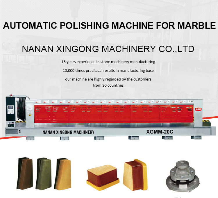 Artificial Stone Polishing Quartz Marble Machine
