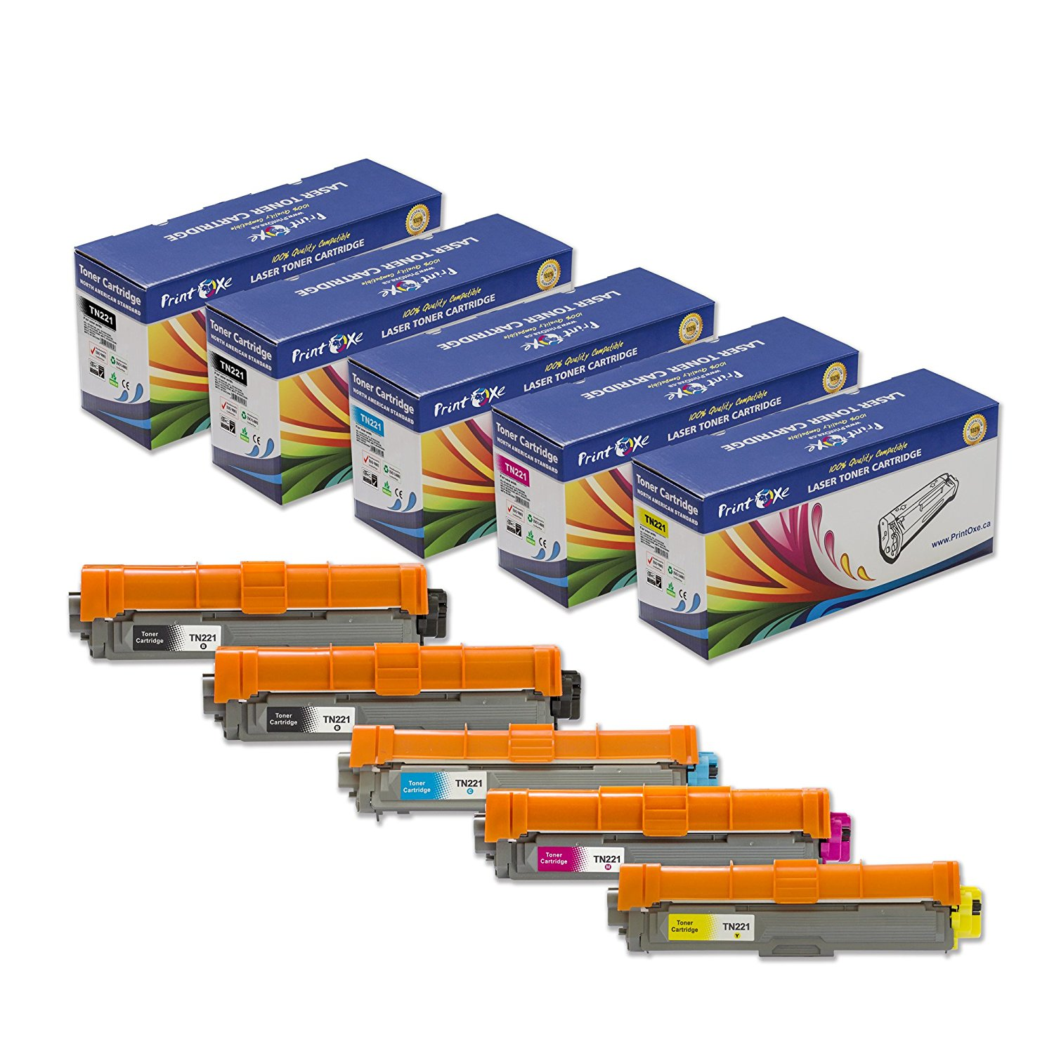 Cyan LD Compatible Toner Cartridge Replacement for Dell 332-0400 5R6J0