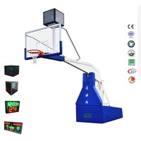 Professional Hydraulic Basketball Stand with 24 Second Shot Clock