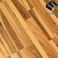 8mm hdf board rosewood timber smooth surface laminate flooring