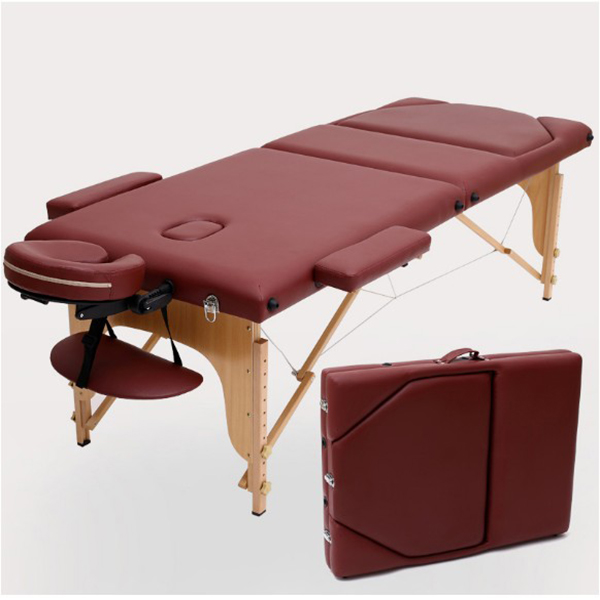 Opvouwbare draagbare full body beauty massage bed multifunctionele massage bed