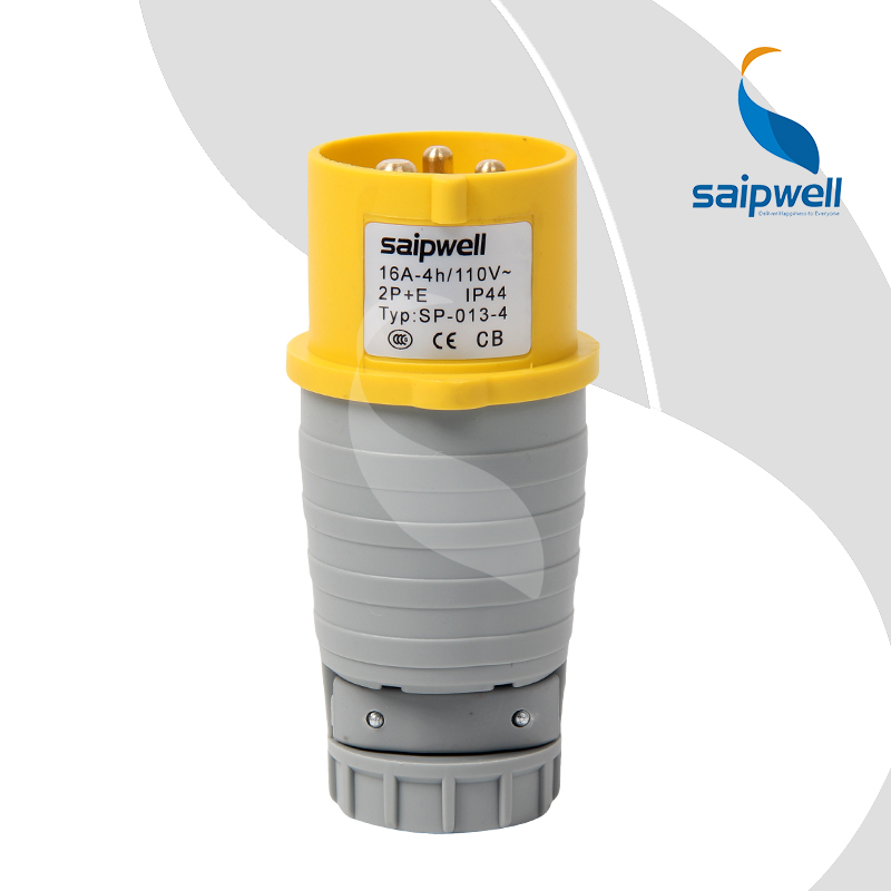 Saipwell Industrial Plug And Socket 16A 3 Pin Industrial Plug