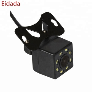 12V Car Cam Rear view reverse Camera with 8 Led Night Vision Waterproof CCD Rear View 7360 chip