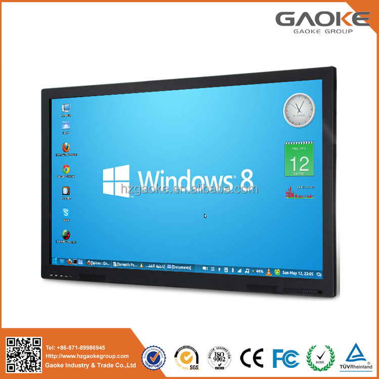 High quality smart board LED interactive tv with 1080P 4K touch screen monitor
