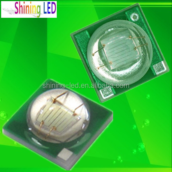 Taiwan Epileds Chip 1W 2W 3W High power SMD 3535 UV 365nm 395nm LED Light Source