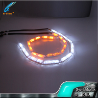 Switchback strip tear eyes flexible flowing drl led daytime running light