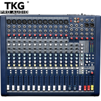 TKG MFX12/2 professional mixing dj console sound audio 12 channel mixer