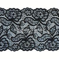 New Design 92% Nylon 8% Spandex Raschel Knitted Lace For Underwear
