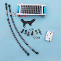 New Oil Cooler Radiator CNC Plate XR70 CR70 Pit bike 110cc 125cc 138cc for Honda CR Engine Cooler