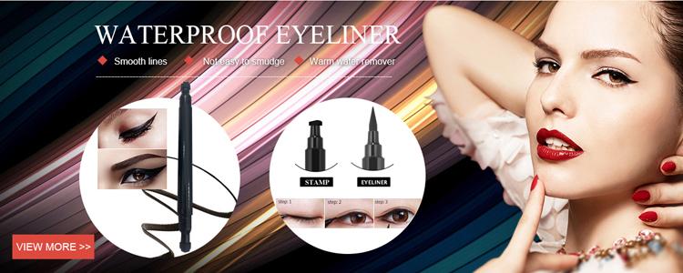 Multi Berwarna Cairan Kimia Bahan Tinta Warna untuk Wanita Gadis Ramah Lingkungan Halus Stamp Eye Liner