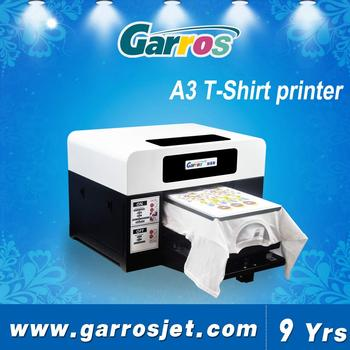 f9f3a9fe hot sale a3 mini digital t shirt printing machine direct textile printing  machine price in india
