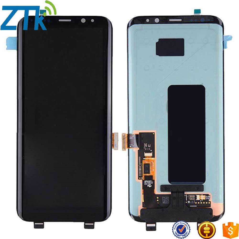 Wholesale price lcd display screen for samsung galaxy s8 touch digitizer