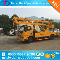 18m Insulated Truck Mounted Aerial Work Platform/Manlift Truck with Imported Insulation Arm