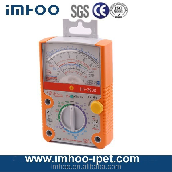 390D analog multimeter tester