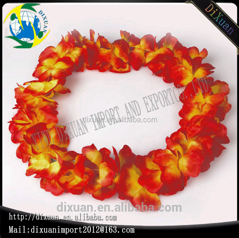 wreath Decorative Flower Leis Hawaii Flowers