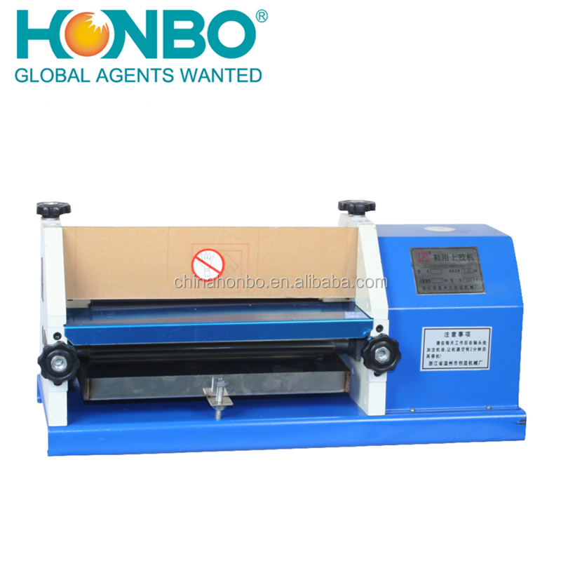 HB-108 industrial wallet shoe leather gluing hot melt glue binding machine