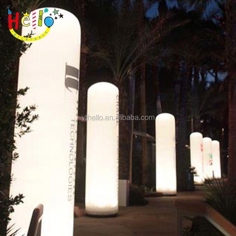 Divertido Herramienta De Publicidad Luz LED Globo Soporte