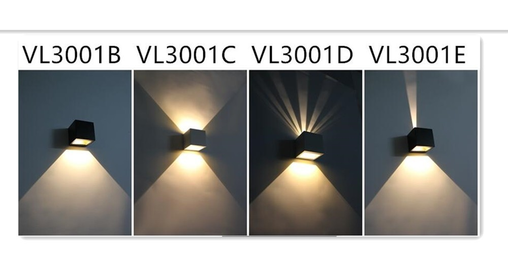 Modern Concise Led Wall Wash Light Tile Light With Wall Mounted ...