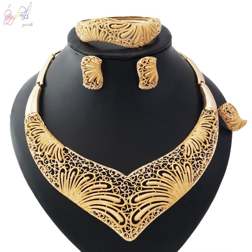 eab9c8a53831 Joyería de traje de catálogos de oro de 18 quilates precio al por mayor de  joyería
