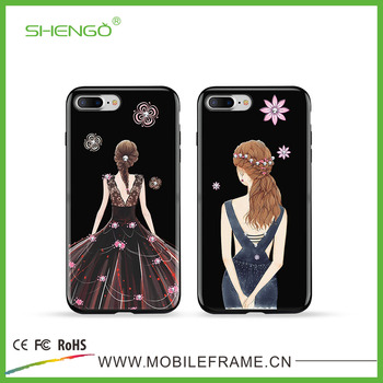 image relating to Printable Phone referred to as Shengo Custom made Desirable Ladies Again Address Uv Printable Cellular phone Scenario Address For Apple iphone 6 As well as - Get Printable Mobile phone Situation Deal with,Printable Telephone Scenario