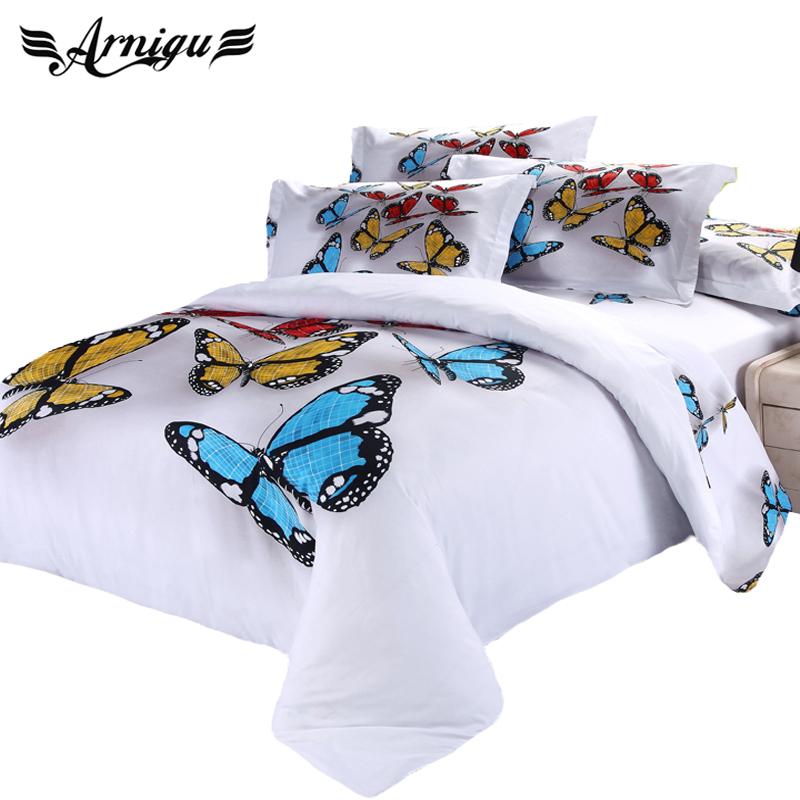 achetez en gros papillon housse de couette en ligne des grossistes papillon housse de couette. Black Bedroom Furniture Sets. Home Design Ideas