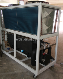 New arrival industrial air cooled water chiller with shell and tube evaporator With Good After-sale Service