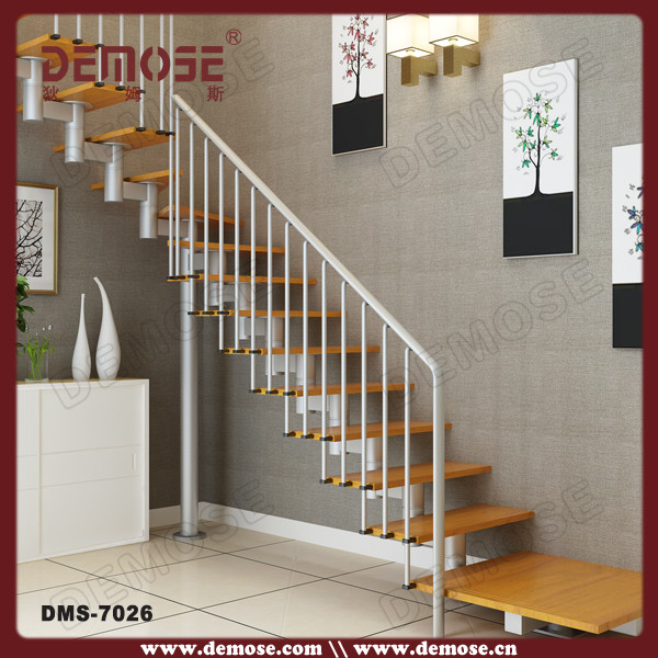 Residential Stainless Steel Wood Stairs Grill Design Buy Stairs
