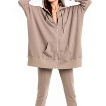 Gros <span class=keywords><strong>femmes</strong></span> tops grossesse hoodywear grosses <span class=keywords><strong>femmes</strong></span> surdimensionné sweat à capuche robe