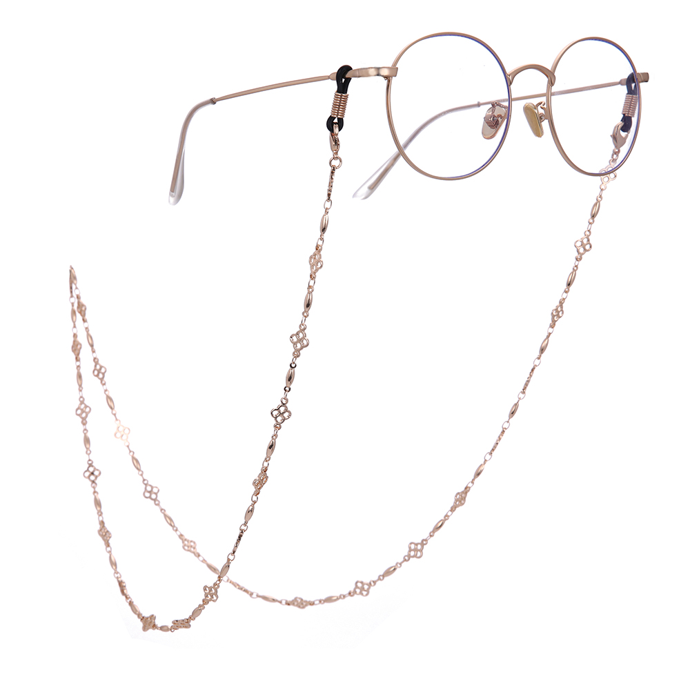 Men's Glasses Wholesale Gold Silver Reading Eyeglasses Sunglasses Chain Cords Lanyard Rope Holder Eyewear Anti-slip Strap Head Chains Commodities Are Available Without Restriction