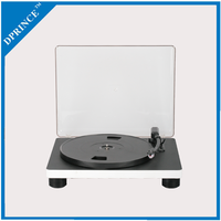 Vinyl turntable player record phonograph player with MP3 format conversion