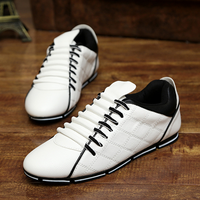 new shoes of 2017 casual pu white men shoes