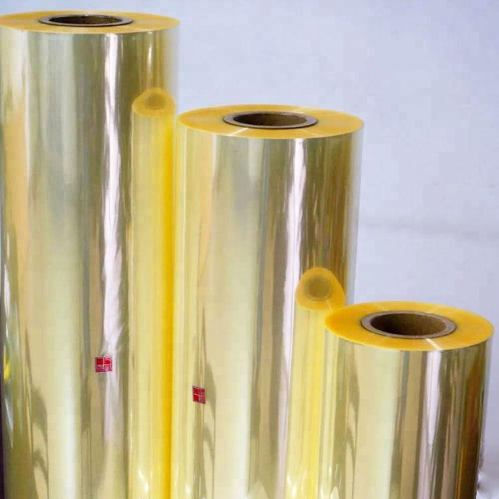 China Manufacturer PVC Clear Film Shrink Rate Sleeves Printing Heat Sensitive PVC Shrink Film