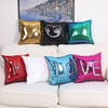 New Design Reversible Sequin Mermaid Sequin Pillow Magical Color Changing Throw Pillow Cover Home Decor Can Write Cushion Cover