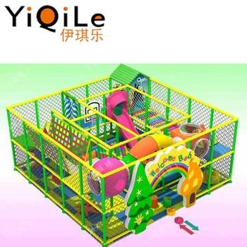 Indah Interior Playground Unik Nama Indoor Games Halus Slide Dalam
