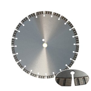 laser welded diamond circular saw blade for concrete saw