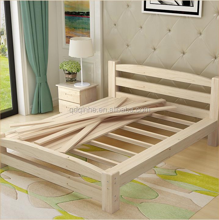 Japanese Korea Style Solid Wod Pine Single Bed Kid\'s Bedroom Furniture  Children\'s Wooden Bed - Buy Country Style Bedroom Furniture Bed,Design ...