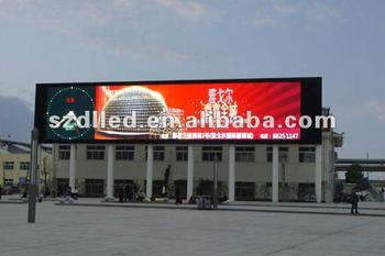 Mbi5024 Mengemudi Ic P 10 Outdoor Advertising Led Display