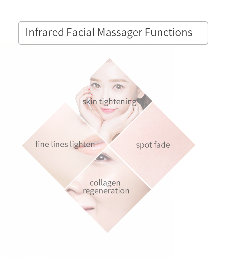 Facial Equipment Anti-aging Face Lifting Skin Care Product Infared Heat Therapy Light Led Red Therapy