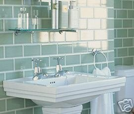 Fired Earth Limehouse Green Retro Metro Tiles 7 5x15cm