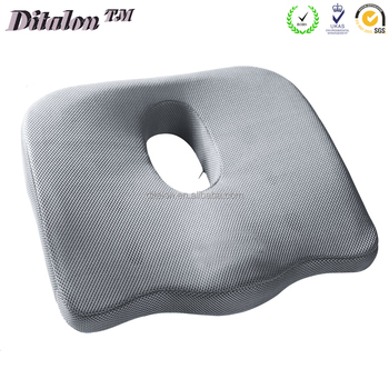 Coccyx Seat Cushion  Sciatica Pillow For Back Pain/Memory Foam Pillow For  Sciatica Relief