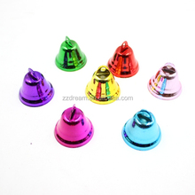 Colorful fashion craft jingle bells chrismas tree decorations