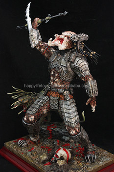 Custom design Predator 20cm resin action figures made in China