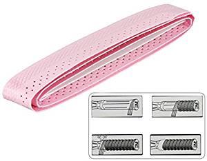 TAAN 050 Badminton EVA Embossed Ventilated Racquet Grip (Pink)
