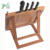 Adjustable and Foldable kitchen using eco friendly Bamboo cook reading display holder with knife stand