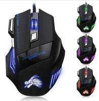 Promotional Computer Accessories Wired USB Mouse optical Custom Logo Printed Gaming Usb Game Mice Mouse