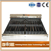Professional manufacture all stainless steel low pressure solar water heater