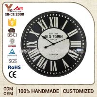 Personalized Design Vintage Style Mdf Silicone Wall Clock Decorative Time Zone Clocks