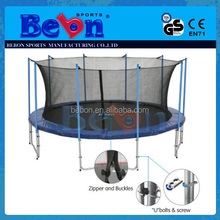 Outdoor Sports Useful Body Exercise Top] Quality Best Price Large superb round trampoline enclosure