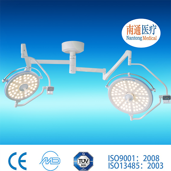 Big brand Nantong Medical China ceiling mounted led operating lamp emergency shadow less